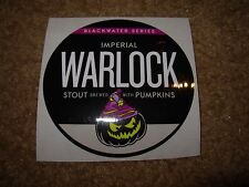 SOUTHERN TIER BREWING circle WARLOCK STICKER decal craft beer brewery