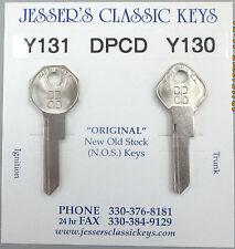 DPCD Y131 Y130 DODGE New Old Stock Keys 1950 1951 1952 1953 1954 1955