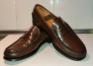 Zapato mocasin castellano Sebago Classic Beef-Roll Penny Moc  LOAFER WHISKEY