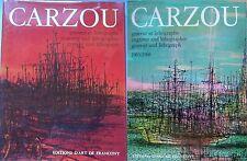 CARZOU 1 et 2, Graveur et Lithographe, Ex numéroté, Signés, Lithographies orig.