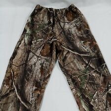 Red Head For Youth Realtree Camo Polyester Elastic Over Pant Bib Size Medium
