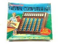 Vintage 1977 Science Fair DIGITAL COMPUTER KIT Radio Shack CAT NO 28-218 Tandy