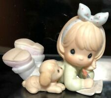"""New ListingPrecious Moments Figurines """"Friends Write From The Start"""""""