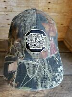 South Carolina Gamecocks Camo Hat Strapback Ball Cap