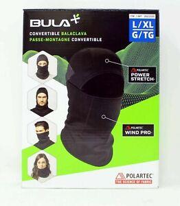 Bula Polartec Convertible Balaclava L/XL Black 1 Count