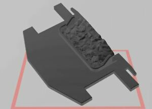 Custom pour Playmobil TRAIN  3D - 1 Plaque charbon tender 4052 - 4029 - 4031