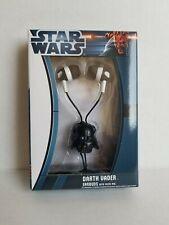 Headphones Star Wars Darth Vader Earbuds with inline Microphone