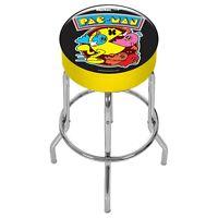 Arcade 1UP Custom Stool PacMan Arcade1UP GamePlay Adjustable Pac Man Cab Seat