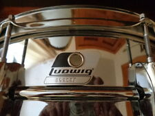 LUDWIG ROCkER CHROME  SNARE DRUM
