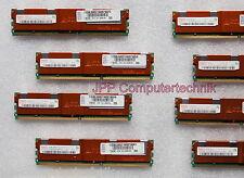 16GB 8 x 2GB 2Rx4 PC2-5300F FB DIMM 667Mhz ECC Fully Buffered DDR2 Server-RAM