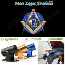 Motorcycle Free and Accepted Masons Logo Laser Projector Ghost Shadow LED Light