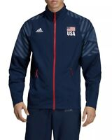 Adidas USA Volleyball Limited Edition Jacket DT7915 Mens Medium New Fast Ship