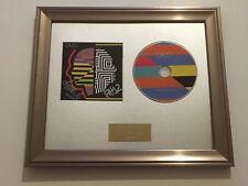 SIGNED/AUTOGRAPHED OMD - THE PUNISHMENT OF LUXURY FRAMED CD PRESENTATION. RARE