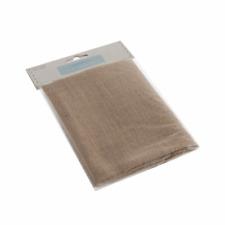 20x Squares Bundle Jute Hessian Burlap Fabric Offcuts Scraps Remnants 10x10cm