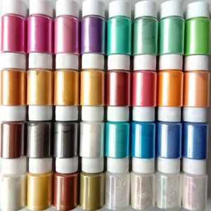 32Color Set Mica Pigment Powder Perfect For Soap Cosmetics Resin Colorant