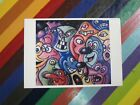 vtg 1980s-2000s art postcard card gallery - Warhol Haring Twombly Marc+