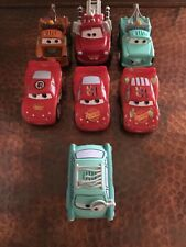 Excellent Condition Fisher-Price 7 Disney Pixar Shake n'go Cars