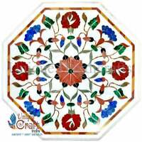 Marble Coffee Table Top Inlaid Pietra Dura Art | Luxury Table top | Furniture