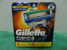 NEW GILLETTE FUSION PROGLIDE 5 REFILL RAZOR BLADES 8 Cartridges