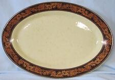 """Cowboy Living Western Belt 14"""" Oval Platter"""