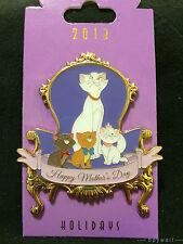 WDI Disney Duchess, Marie, Berlioz, & Toulouse Mother's Day Aristocats Pin