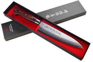 Couteau Japonais Sanetatsu Lame Acier Damascus Importe du Japon