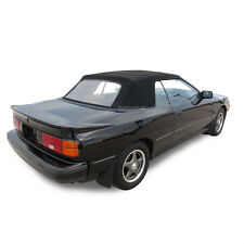 Fits: Toyota Celica 1987-1989 Convertible Soft Top Replacement Black Pinpoint