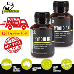 2 x ATP Science Thyroid RX 120 Caps Thyroid Function Increase energy, Fat loss