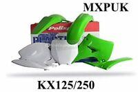 KX250 1994 PLASTICS KIT POLISPORT MXPUK STANDARD KX 250 94 MXPUK KAWASAKI (022)