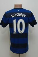 MANCHESTER UNITED 2011/2012 AWAY FOOTBALL SHIRT JERSEY NIKE #10 ROONEY SIZE S