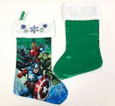 Marvel Avengers Plush Satin Christmas Stocking
