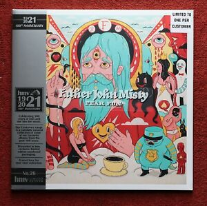 Father John Misty Fear Fun HMV Vinyl LP Neon Orange Vinyl (New & Sealed)