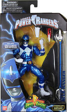 Power Rangers Legacy ~ METALLIC BLUE RANGER ACTION FIGURE ~ Bandai