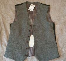 mens next grey/black wasitcoat size 34R bnwt