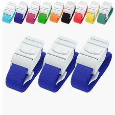 3 rolseley Medical lacci emostatici Quick & lento rilascio di colore blu