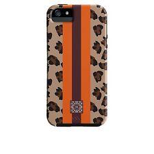 Case-Mate Iomoi Designer Print Phone Case iPhone 5/s Cheetah Stripe Orange/Brown