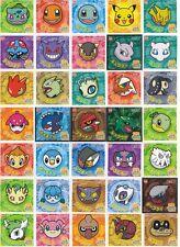 Pokemon Battle Trozei PART 1 - Seal Sticker Card FULL SET of 70 [NM] - Ensky Pan
