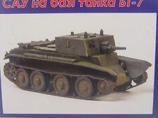 SPG Panzer BT-7  - UM Militär  Bausatz 1:72 -  247   #E