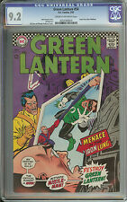 GREEN LANTERN #54 CGC 9.2 CR/OW PAGES  // GIL KANE & MURPHY ANDERSON ART