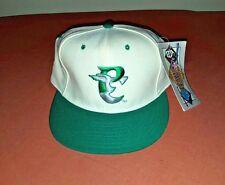 VTG 90s Philadelphia Eagles New Era 5950 Fitted Hat 7 1/2 Cream Kelly Green NOS