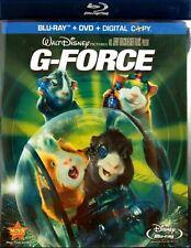 Disney G-Force (Blu-ray/DVD, 2009, 3-Disc Set, No Digital Copy)