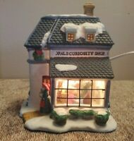 Share the Magic - Opal's Curiosity Shop - Lighted House W/ Interior Scene W/ Box