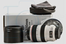 Canon EF 70-300mm F/4-5.6 L IS USM Lens Superb Condition