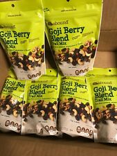 (6) Bag Lot Of CVS Gold Emblem Abound Goji Berry Blend Trail Mix 6 Oz Each