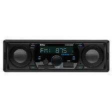 Boss Audio 630UASB Mechless AM/FM Receiver W/Built In Speakers Bluetooth