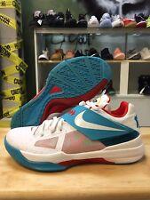 7fe8939cb11 Nike KD 4 N7 Zoom Size 11.5 Used 519567-146 White Nerf Weatherman All Star