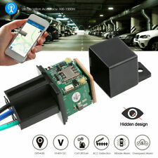 Car Gps Tracker Real Time Tracking Hidden Security Device Relay-Shape Cut Oil