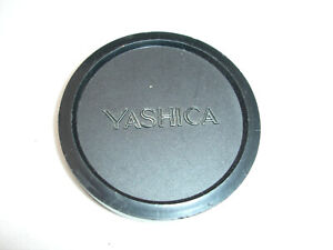 YASHICA front lens CAP , SLIP ON 62mm filter size thread , good condition