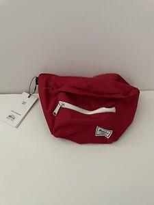 Herschel  Red Crossbody Hip Sling Waistbag Fannypack