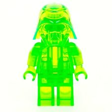 LEGO Monochrome Star Wars Darth Vader Helm/helmet Prototype trans bright green